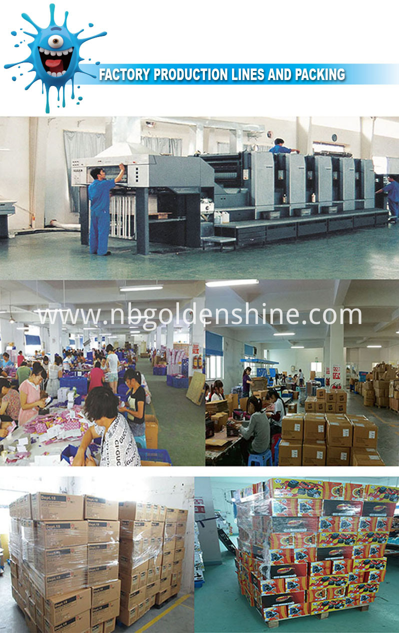 Factory Production Line And Packing
